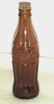 Brown Coke Hobbleskirt Bottle