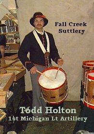 Drummer- Fall Creek Sutler