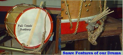 Drum Snares- Fall Creek Sutler