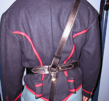 Sword Belt Back View