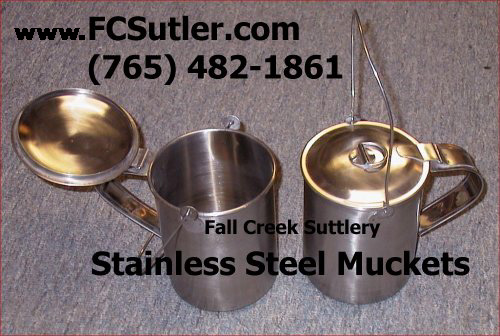 Stainless Steel Muckets