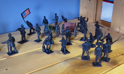 Toy Soldiers from the set